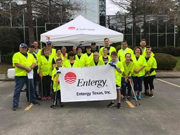 Entergy Texas Supports Earth Day GreenUp to Beautify The
